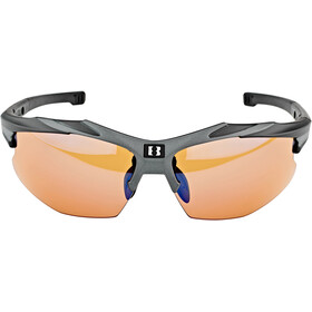 Bliz Hybrid M18 Glasses Ultra Lens Science matt black/photochromic brown w blue multi
